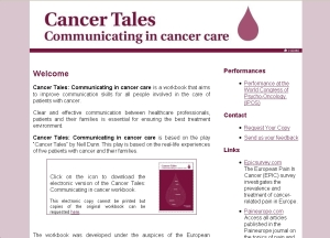 Visit the cancertales.org website